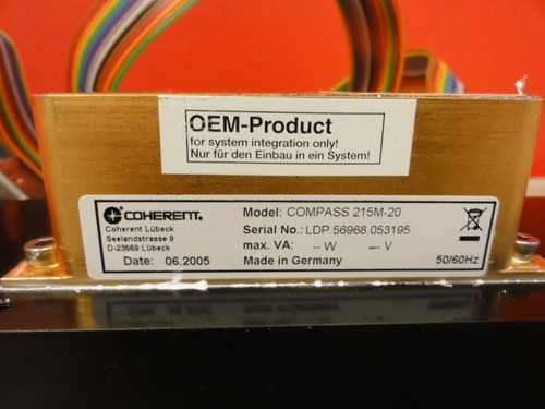 Coherent Model Compass 215-20, 20mW Laser