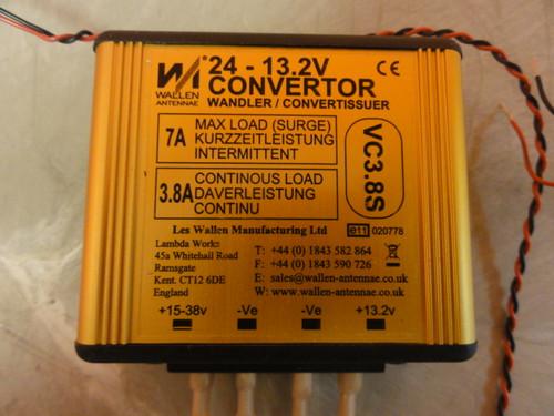 Les Wallen Antennae VC3.8S Convertor Wandler / Convertissuer, 24-13.2V