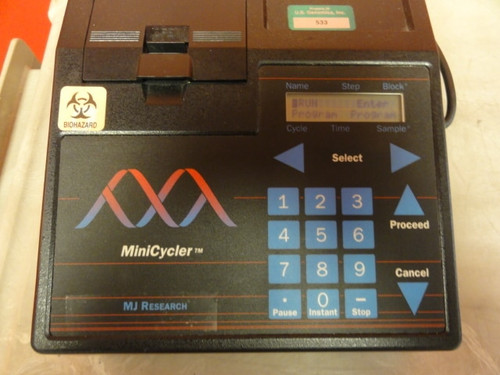 MJ Research Model MiniCycler PTC150 Thermal Cycler