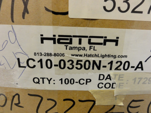 Case of (77) Hatch LC10-0350N-120-A Constant Current Output LED Drivers