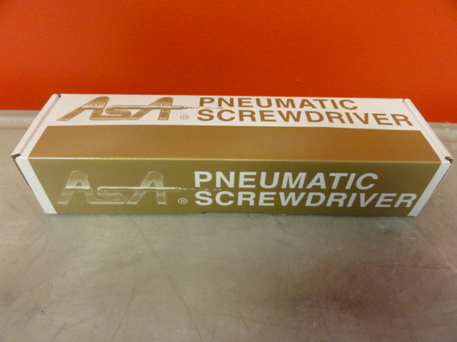 "ASA Model ASA-T55 Pneumatic Screwdriver, Lever Start, 1/4"""