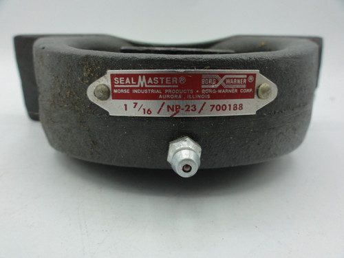 SealMaster 700188 Ball Bearing Pillow Block, 17/16, NP23