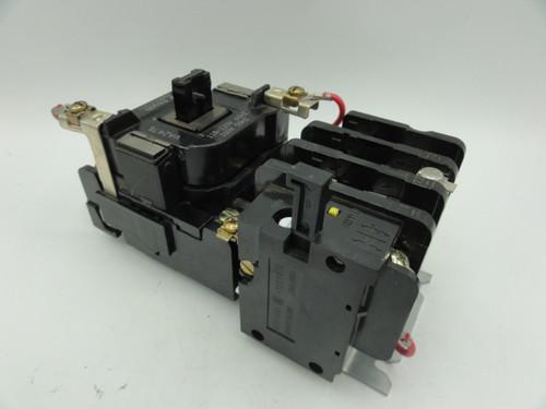 GE CR306C002 Magnetic Motor Starter, 120A, 3 Pole