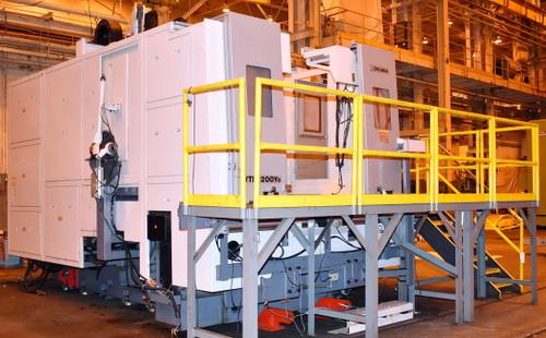 "2013 Okuma VTM-200YB 78""/94"" 5-Axis CNC Vertical Turning Center"