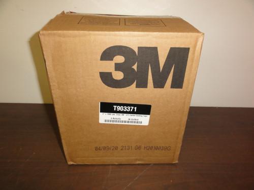 "3M Scotch T903371 2"" x 1000 yds. Clear 3M 371 Carton Sealing Tape, 6 Rolls"