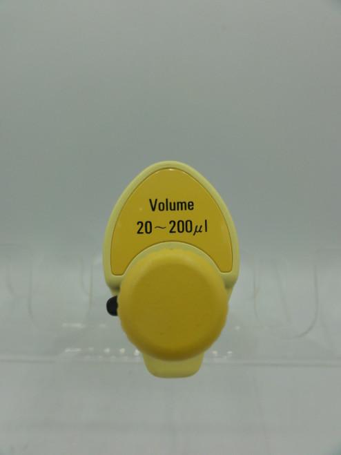 Nichiryo L11505441 Autoclavable Nichipet EX Plus Pipette, 20-200uL