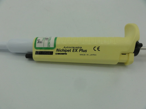 Nichiryo L11115281 Autoclavable Nichipet EX Plus Pipette, 2-20uL