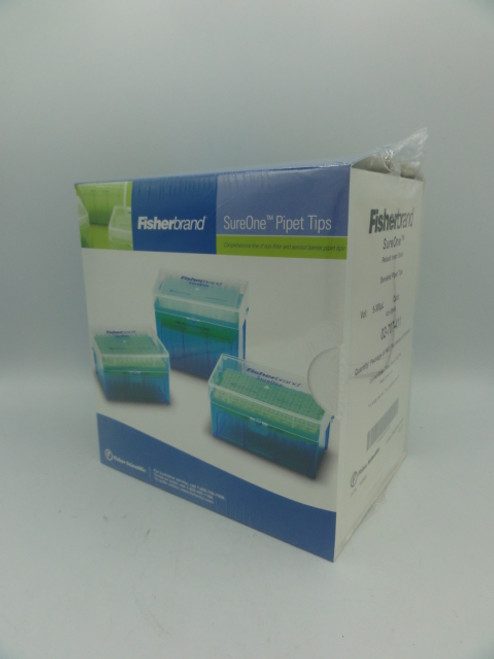 (2) Fisherbrand SureOne 02-707-411 Beveled Pipet Tips, 5-300 uL, Package of 960