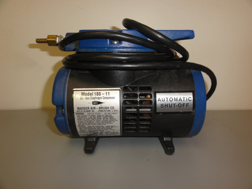 Badger Air-Brush 180-11 Oil-Less Diaphragm Compressor