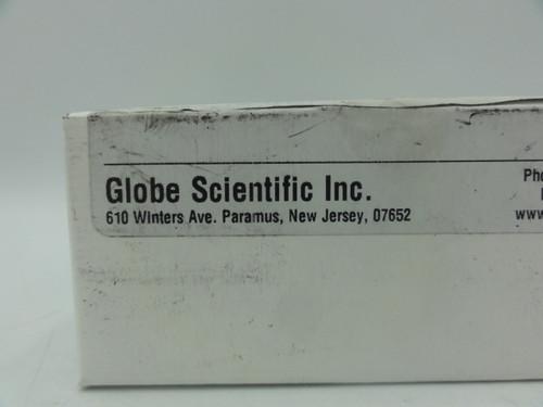 (9) Globe Scientific 51680 Plastic Microhematocrit Capillary Tube, Plain, Blue Tip, 100/Vial
