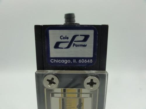 Cole Parmer N014-96 Flow Meter, 0-60mm
