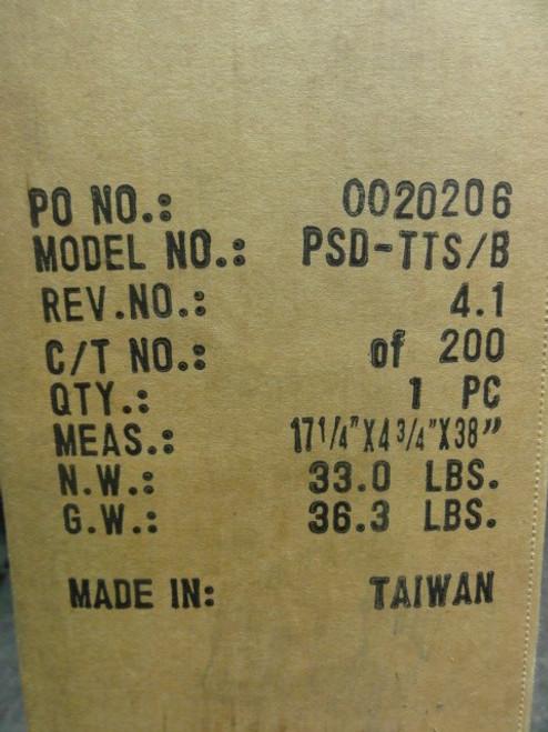 "Premier Mounts PSD-TTS-B Tabletop Stand, Measures: 17 1/4"" X 4 3/4"" X 38"""