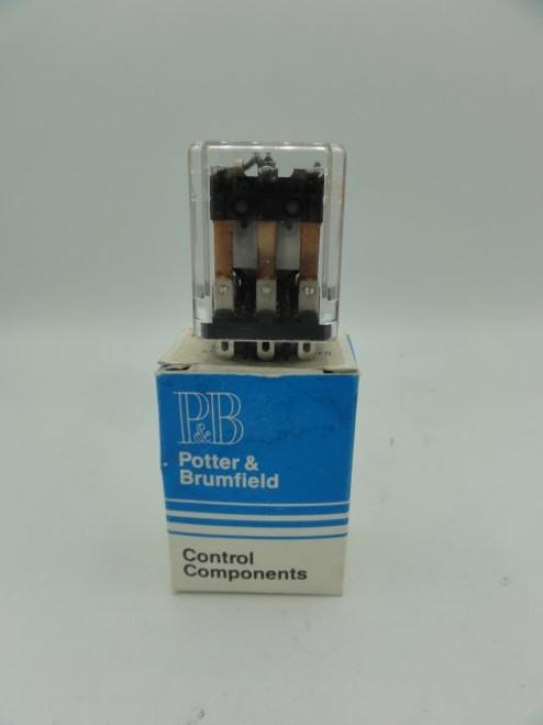 Potter & Brumfield KUP-14D15-110 Control Component, 10A, 250VAC