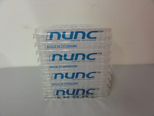 (4) Thermo Scientific  NUNC Polysorp Microwell, 96 Slots/ Rack, 10 Racks/Pack