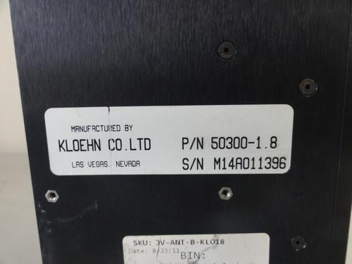 Kloen P/N 54300-1.8 Syringe Pump
