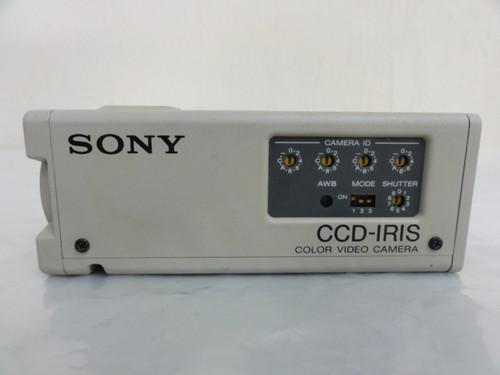 (2) Sony DXC-107A CCD-IRIS Color Video Cameras, No Cords