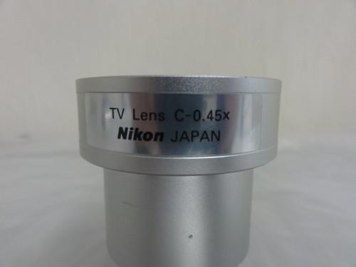 Nikon C-0.45X TV Lens - For Parts, Missing A Piece