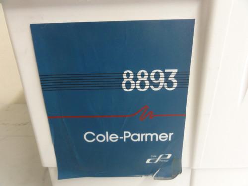 Cole Parmer 8893 Ultrasonic Cleaner, Model 8893R-DTH