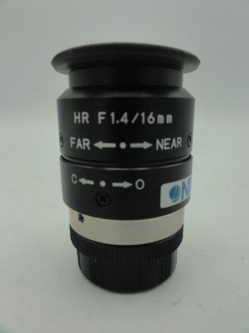 Navitar Camera Lens, HR F1.4/16mm