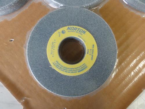 "(8) Norton 4x1/2x1-1/4"" Grinding Wheels, 39C80-JVK -NEW"