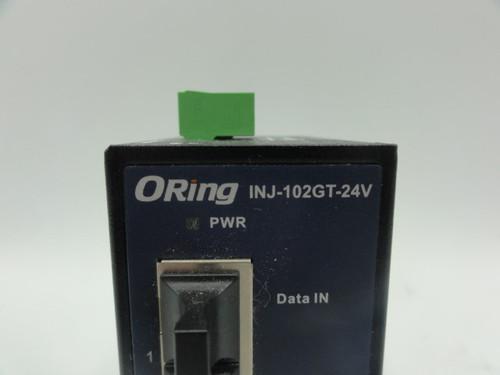 ORing INJ-102GT-24V 2 Port PoE Injector