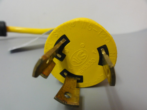 Conntek L6-30P To (2) L6-30R Y-Adapter Power Splitter, 250V