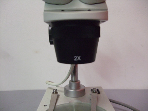 AmScope 2X Microscope, Light Source Doesn't Work, (2) WF10X E.P.