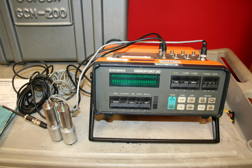 SCHENCK VIBROPORT 30 with Hard Case and Accessories - Not Working