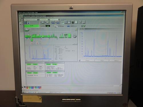 HP Agilent 1100 Series 5-Piece HPLC System w/ Chem Tray & Computer