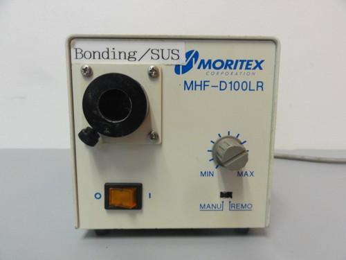 Moritex MHF-D100LR illuminator w/ Moritex 801289 Wand