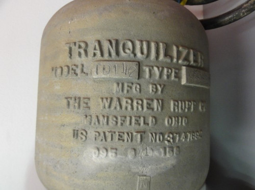 The Warren Rupp Co. TD 1 1/2 NG-1-SS Tranquilizer