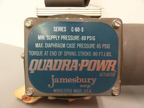 Jamesbury Corp. C-60-S Quadra-Powr Actuator