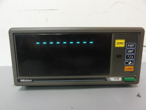 Mitutoyo Corp. KS-31 Counter w/ Mitutoyo AT111 Linear Scale