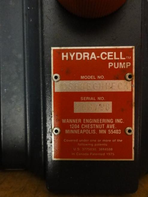 Hydra Cell Pump MO3EKBGHHECA