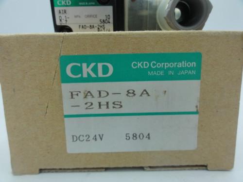 CKD FAD-8A-2HS Pilot Operated Solenoid Valve CNC Robodrill