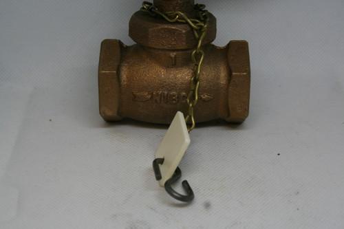 "NIBCO KT-65 Bronze Globe Valve, 1"", 175 WWP"