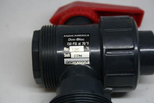 Asahi/America Duo-Bloc 150PSI @ 70F, Seals FPM