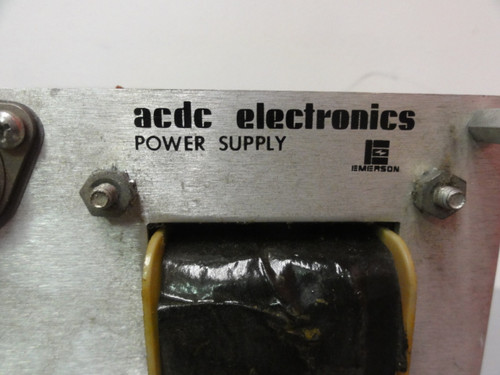 ACDC Electronics 12N5 Power Supply, Output: 12v @ 5A