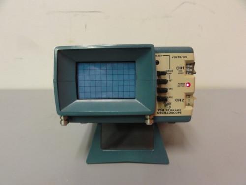 Tektronix 214 Storage Oscilloscope