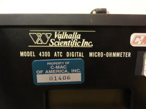 Valhalla Scientific Inc. 4300 ATC Digital Micro-ohmmeter