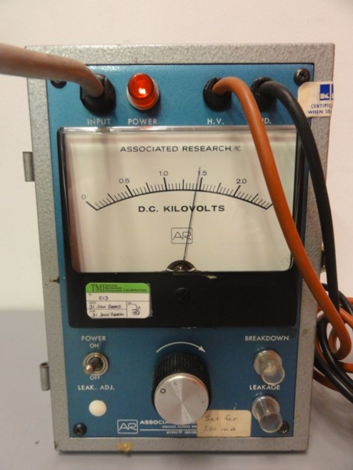 Associated Research Inc. Model 5202 Junior HYPOT Tester