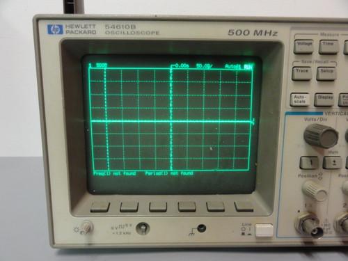 HP 54610B Oscilloscope, 500 MHZ