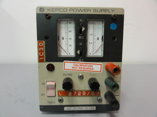 Kepco JQE 75-1.5M Power Supply