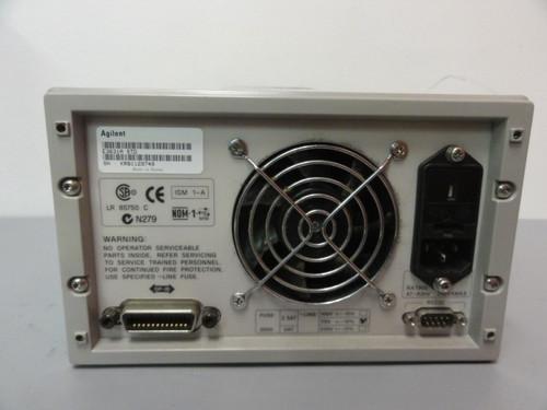 Agilent E3631A Triple Output DC Power Supply, No Outputs & No Display