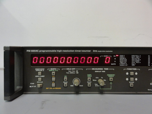 Philips PM6654C Programmable High Resolution Timer/Counter