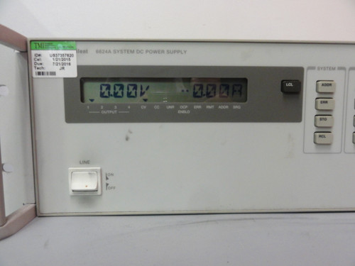 Agilent 6624A System DC Power Supply