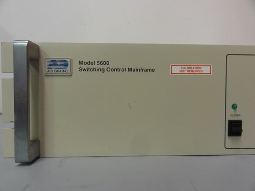 AD Data Inc. Model 5600 Switching Control Mainframe