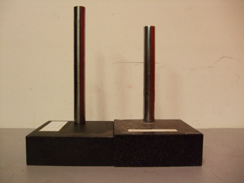 "(2) Granite 6x6x2"" Indicator Stands"