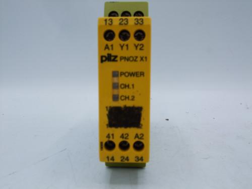 PILZ 774300 PNOZ X1 Safety Relay 24VAC/24DC