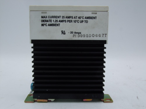 (2) Crouzet GRD 84130103  Solid State Relay 4-32VDC 24-280VAC 25A